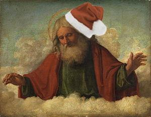Santa or God