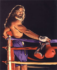 jesus as a boxer