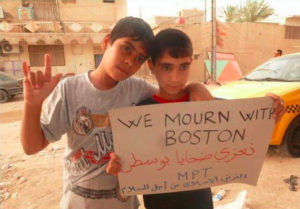 We Mourn With Boston