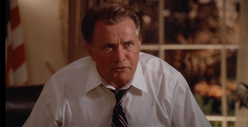 President Bartlet West Wing Screencap