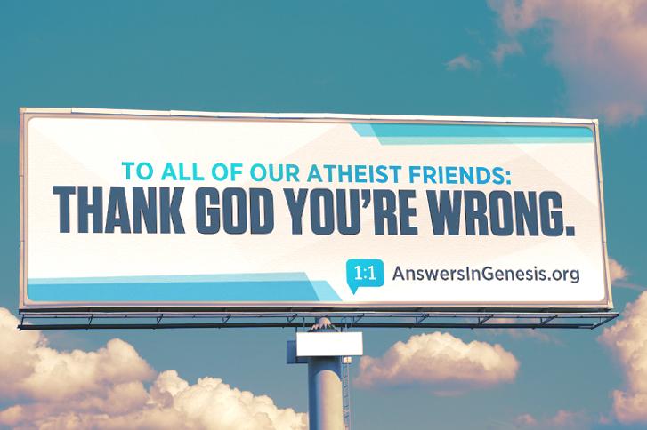 Answers in Genesis Billboard