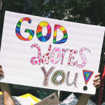 Why I Held This Sign at Gay Pride