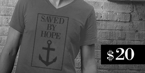 SavedByHopeShirt