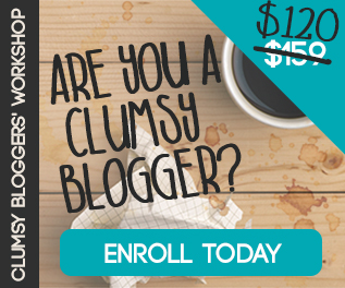 Clumsy Bloggers Workshop