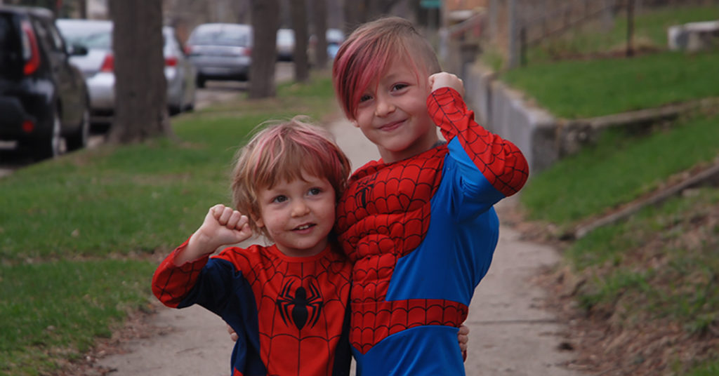<strong>Why My Boys Wore Spiderman Costumes to Church Today</strong> <br/><br/> <em>The world needs more superheroes like that.</em><br/><br/>